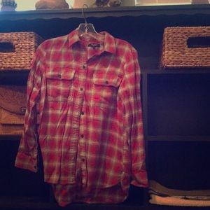 Madewell flannel! Only worn once!